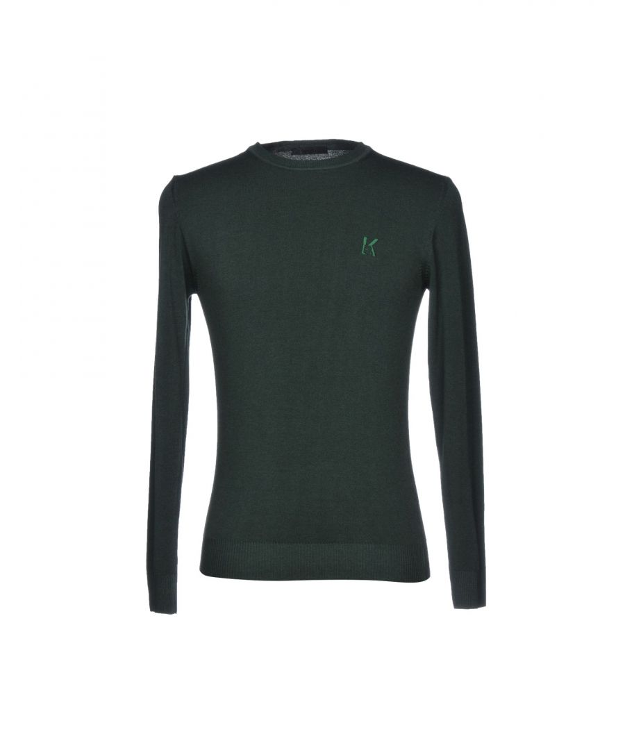 Image for Karl Lagerfeld Green Wool Knit Jumper
