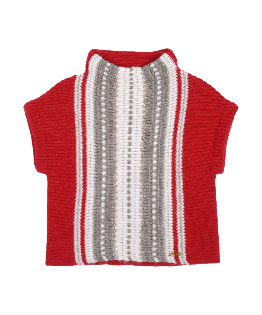 Image for KNITWEAR Girl Liu •Jo Red Fibre sintetiche