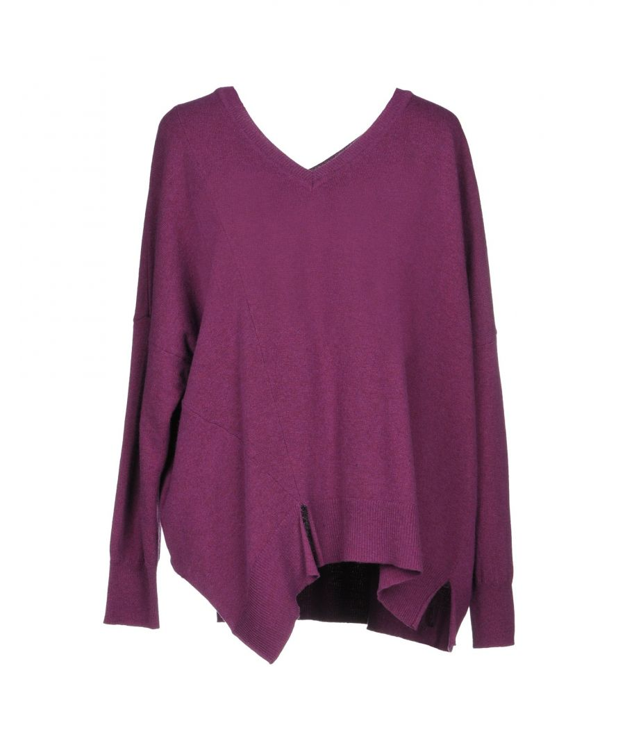Image for Anna Rachele Mauve Virgin Wool Jumper