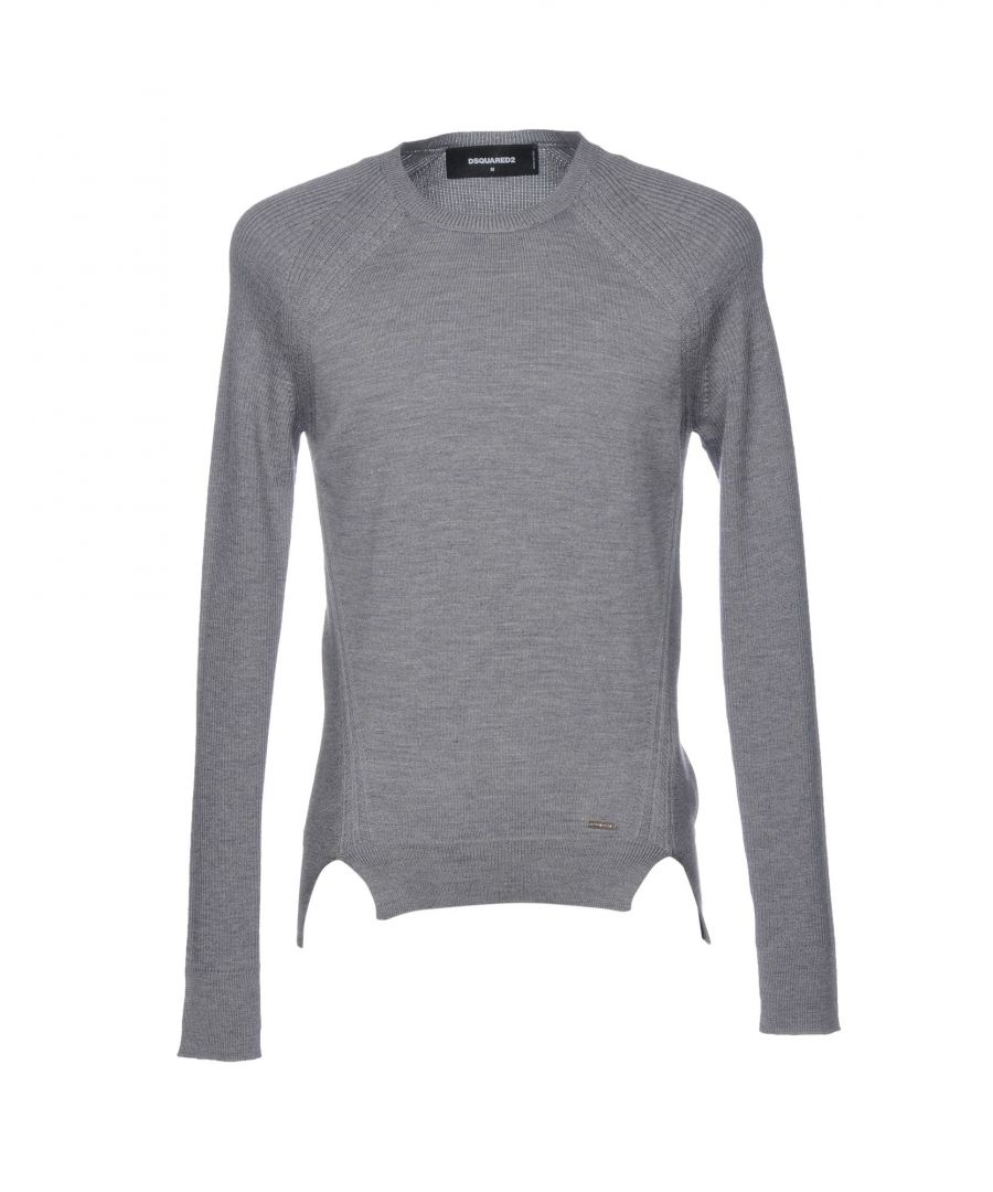 Image for Dsquared2 Grey Wool Jumper