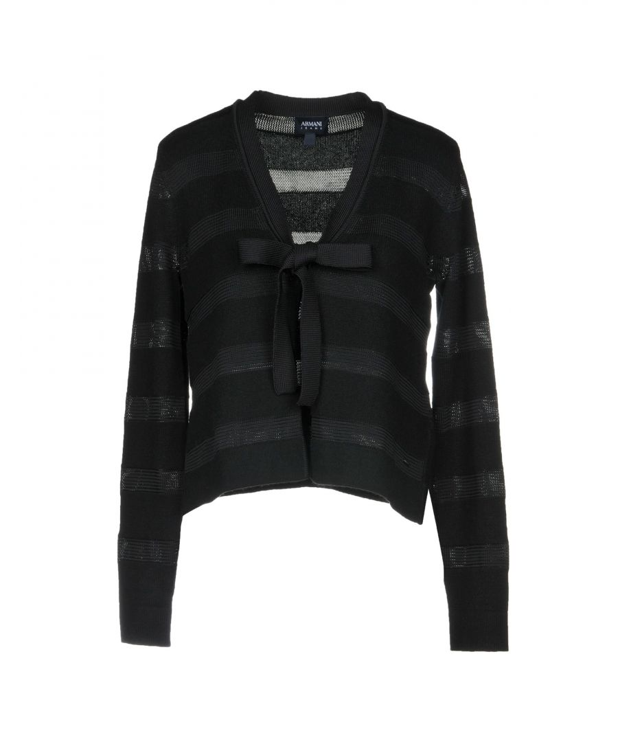 Image for Armani Jeans Black Knit
