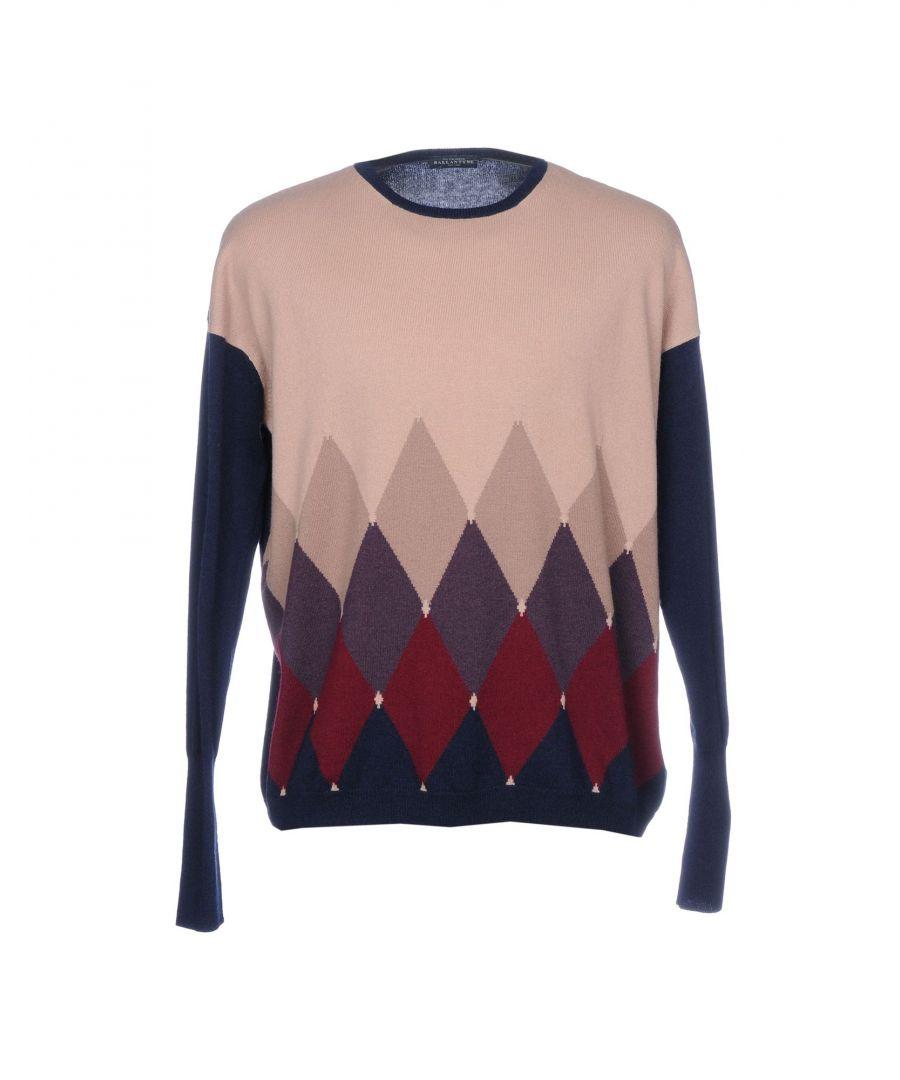 Image for Ballantyne Pink Cashmere Jumper