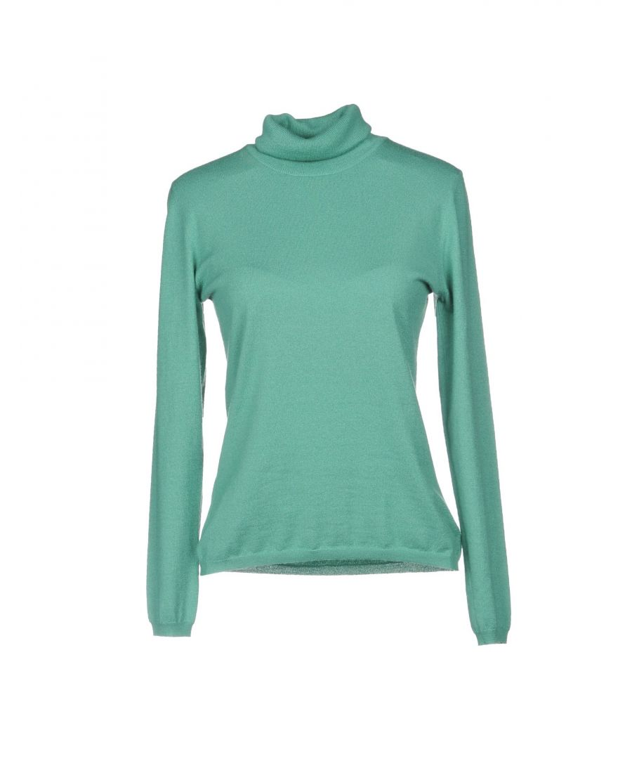 Image for KNITWEAR Woman Brunello Cucinelli Green Cashmere