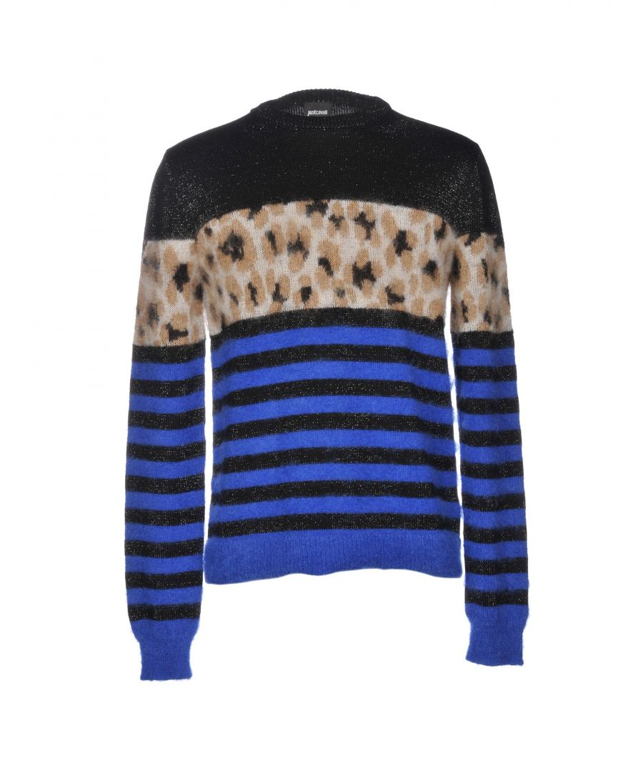Image for Just Cavalli Black Wool Jumpers