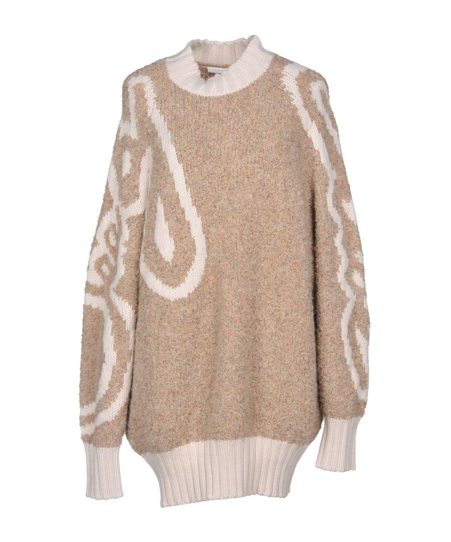 Image for Chloé Beige Boucle Knit Jumper