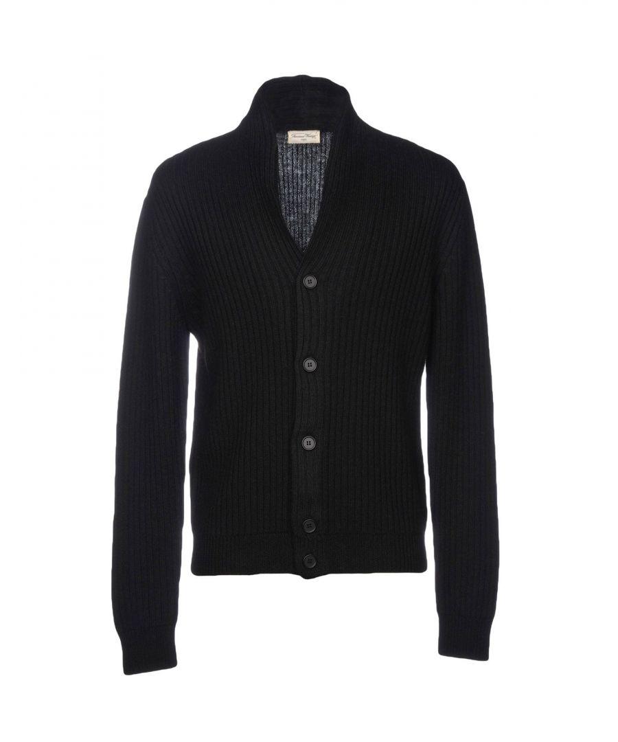 Image for American Vintage Black Wool Cardigans