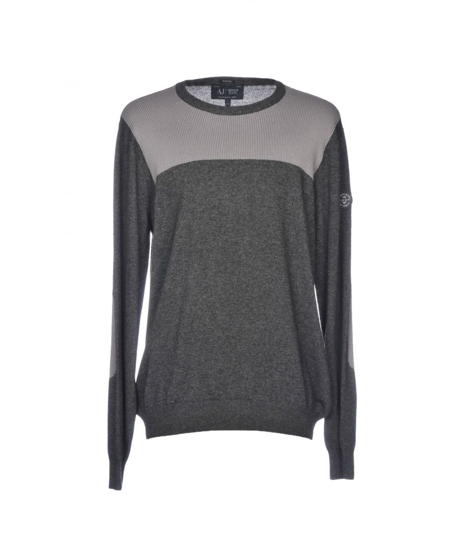 Image for Armani Jeans Steel Grey Jumper