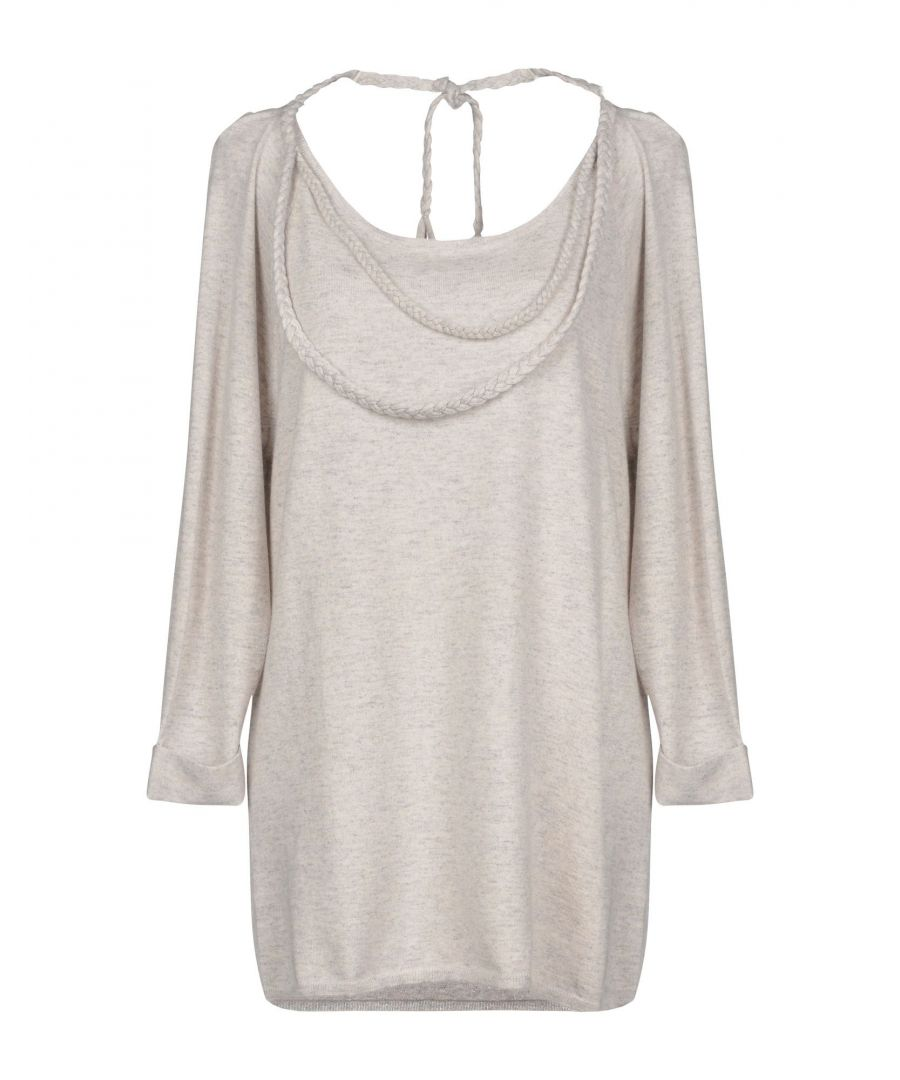 Image for KNITWEAR Eric Bompard Cachemire Light grey Woman Cashmere