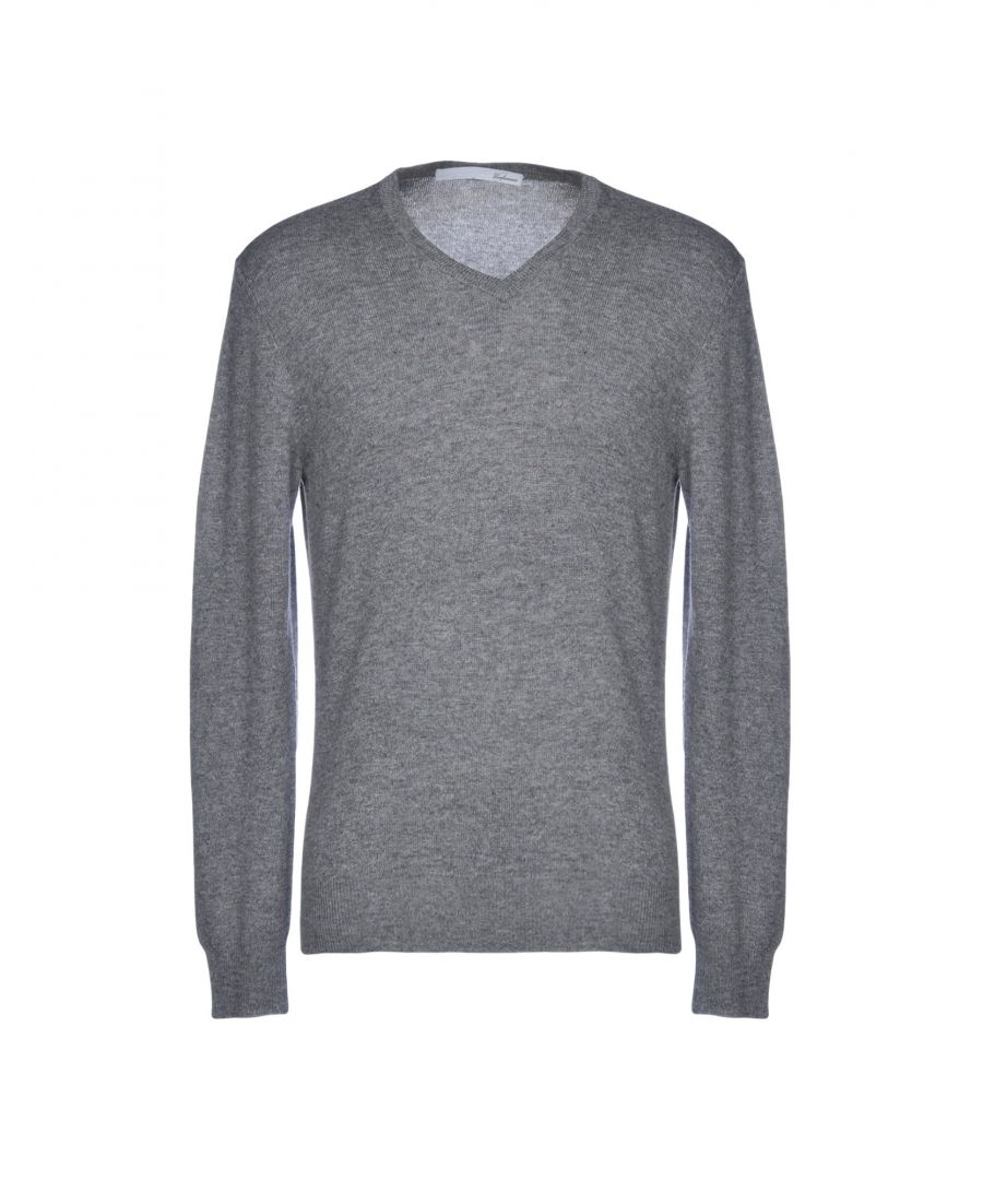 Image for Unfamous Grey Cashmere Knit Jumper