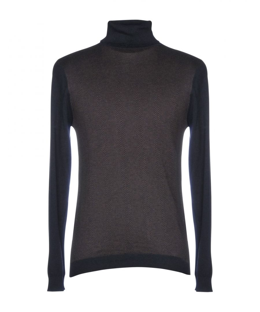 Image for At.P.Co Dark Brown Cotton Lightweight Knit Jumper