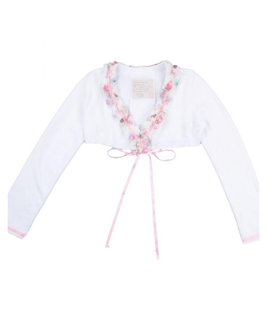 Image for KNITWEAR Girl Roberto Cavalli Junior White Cotton
