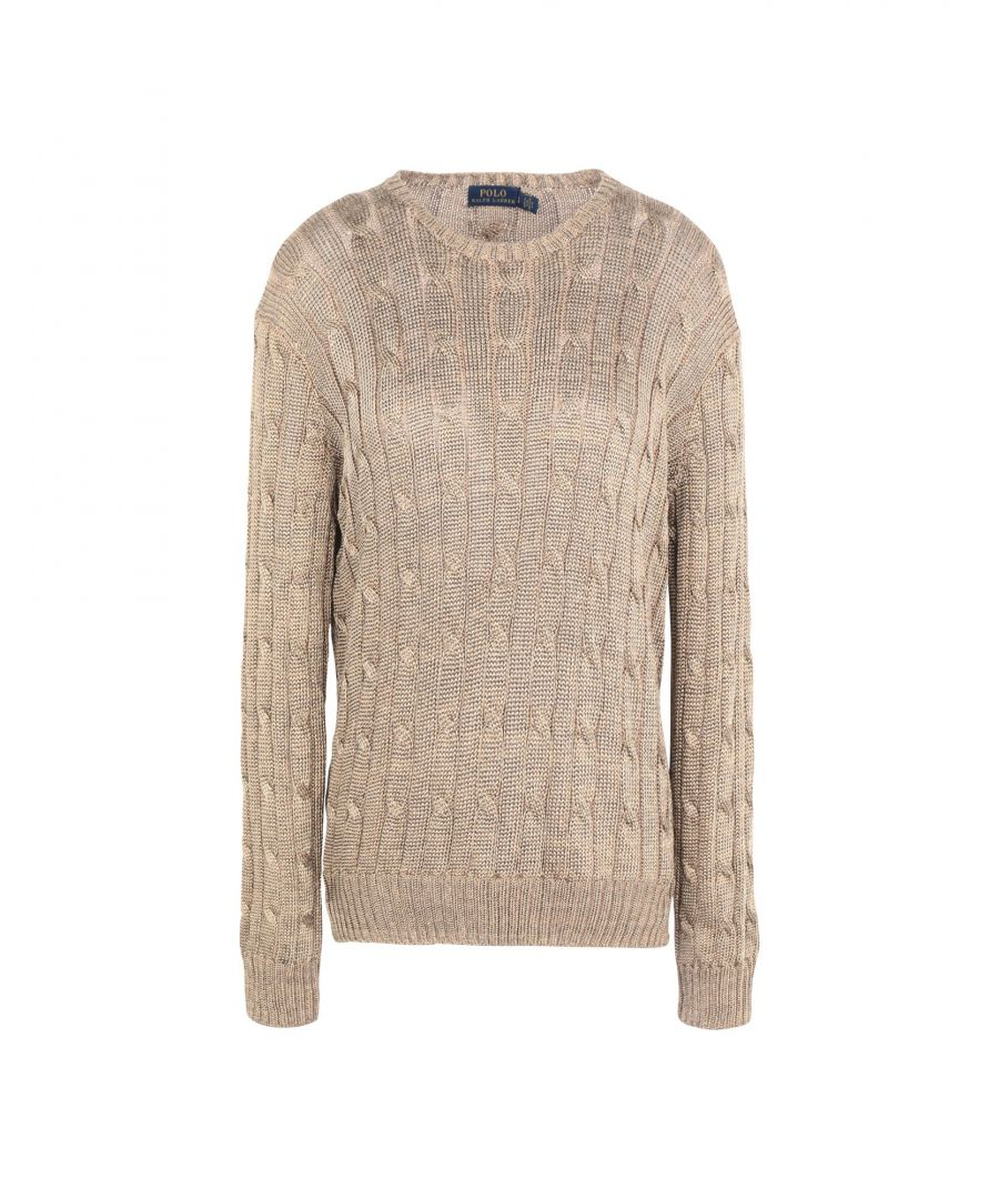 Image for KNITWEAR Polo Ralph Lauren Gold Woman Viscose