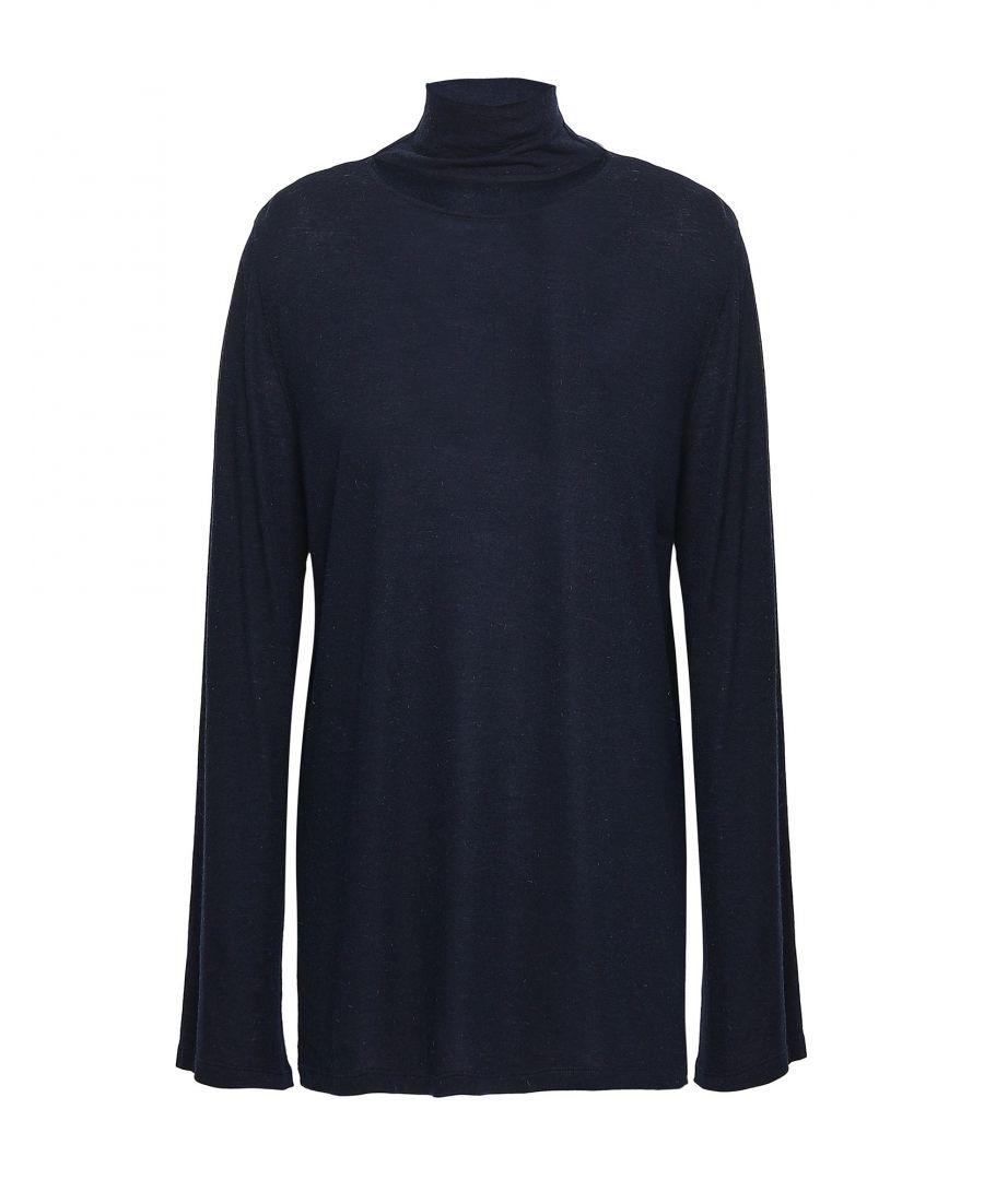Image for Iro Dark Blue Knit Jumper