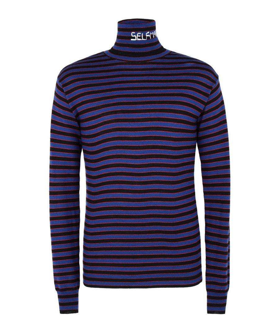 Image for KNITWEAR Self Made By Gianfranco Villegas Dark purple Man Wool