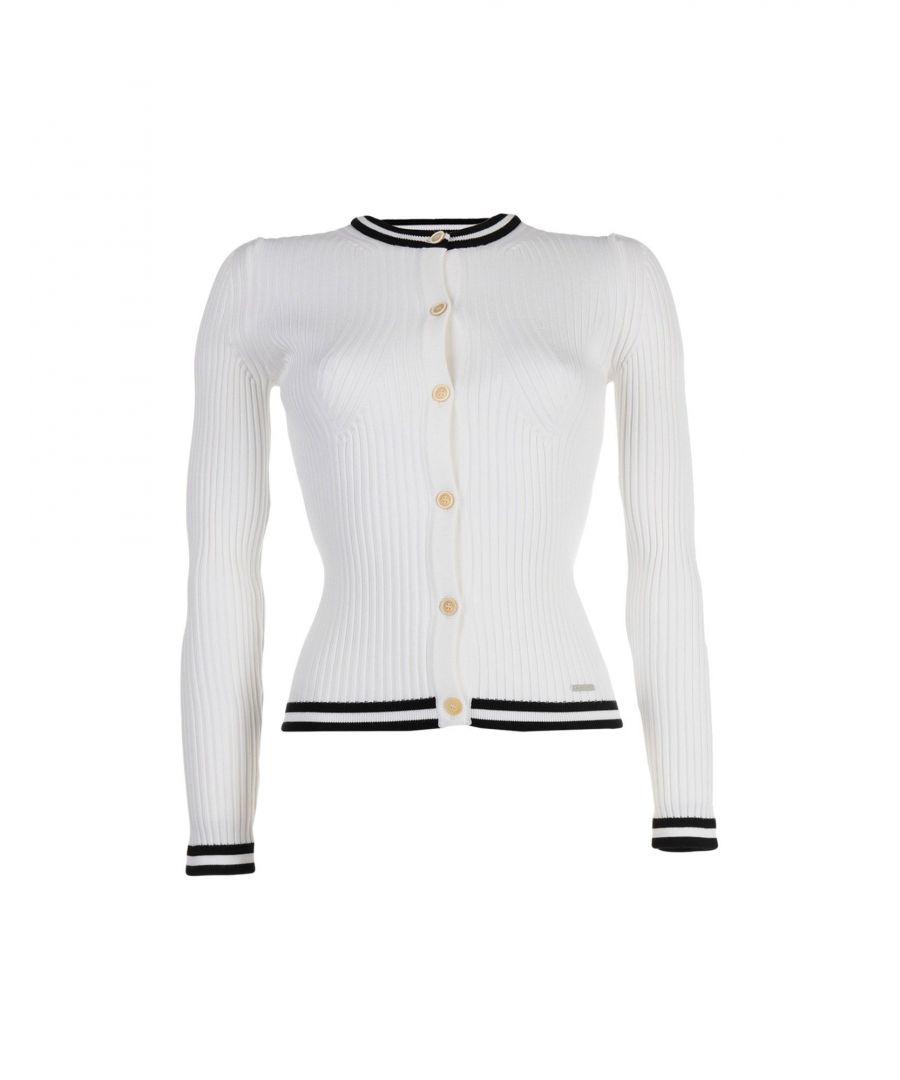 Image for Dsquared2 White Cardigan