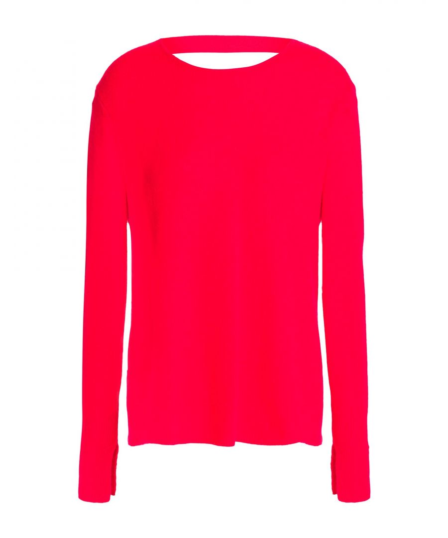 Image for Halston Red Cashmere Jumper