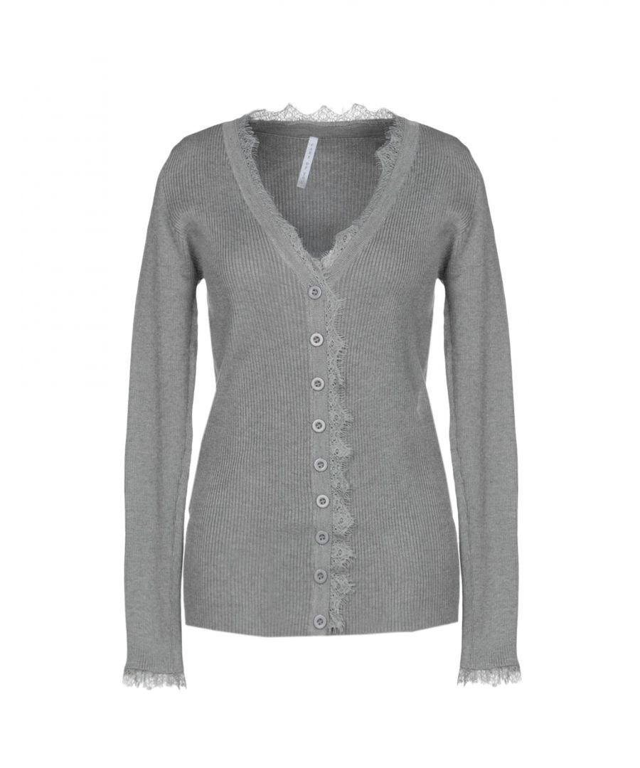 Image for KNITWEAR Care Of You Grey Woman Viscose
