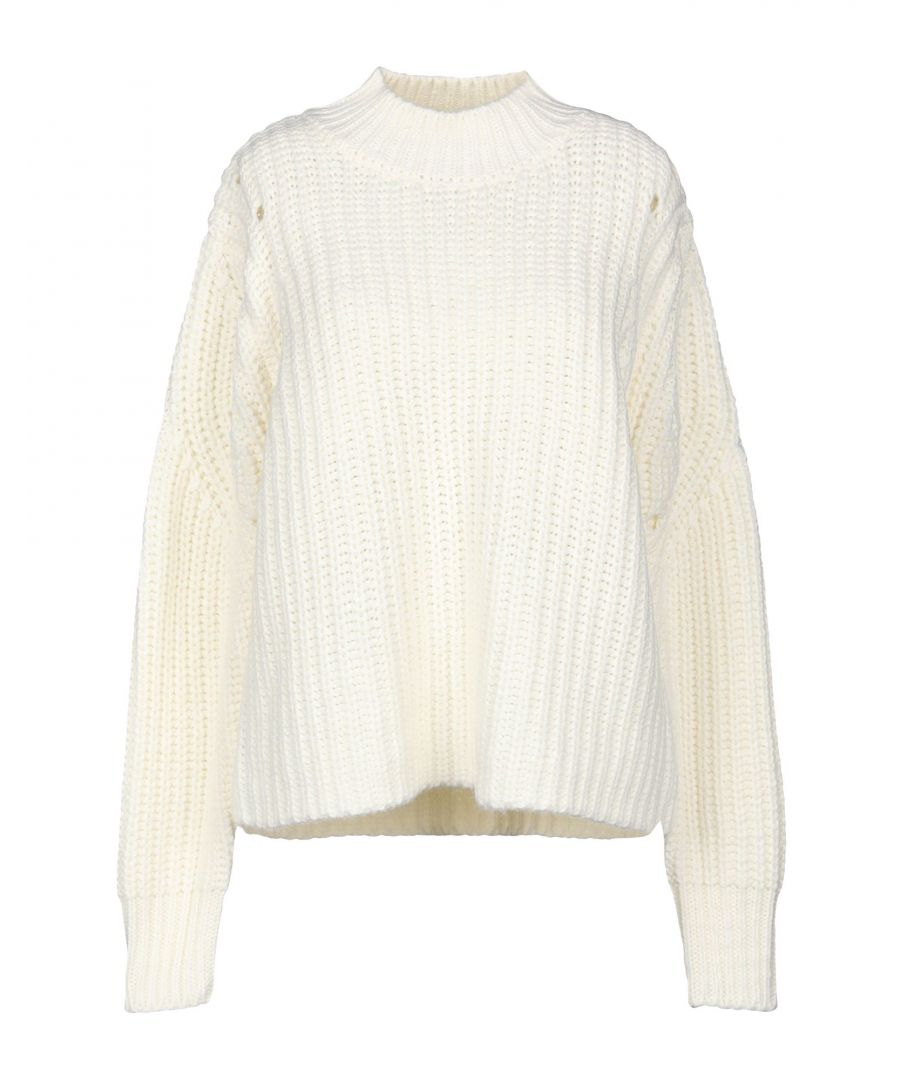 Image for Sh By Silvian Heach White Knit Jumper