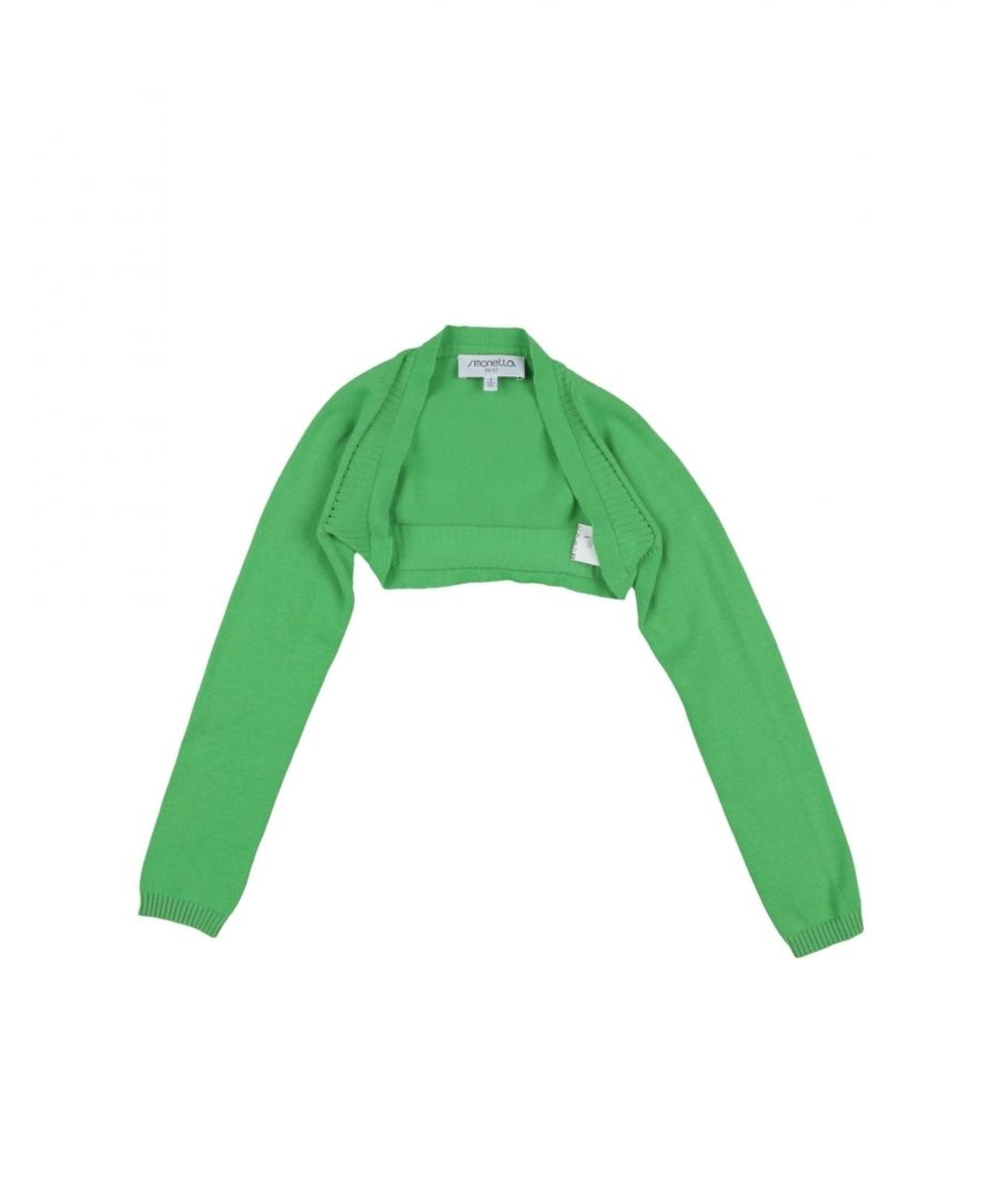Image for KNITWEAR Girl Simonetta Mini Light green Cotton