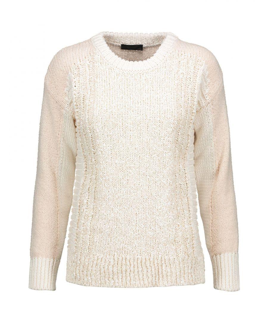 Image for Belstaff Ivory Cotton Knit Jumper