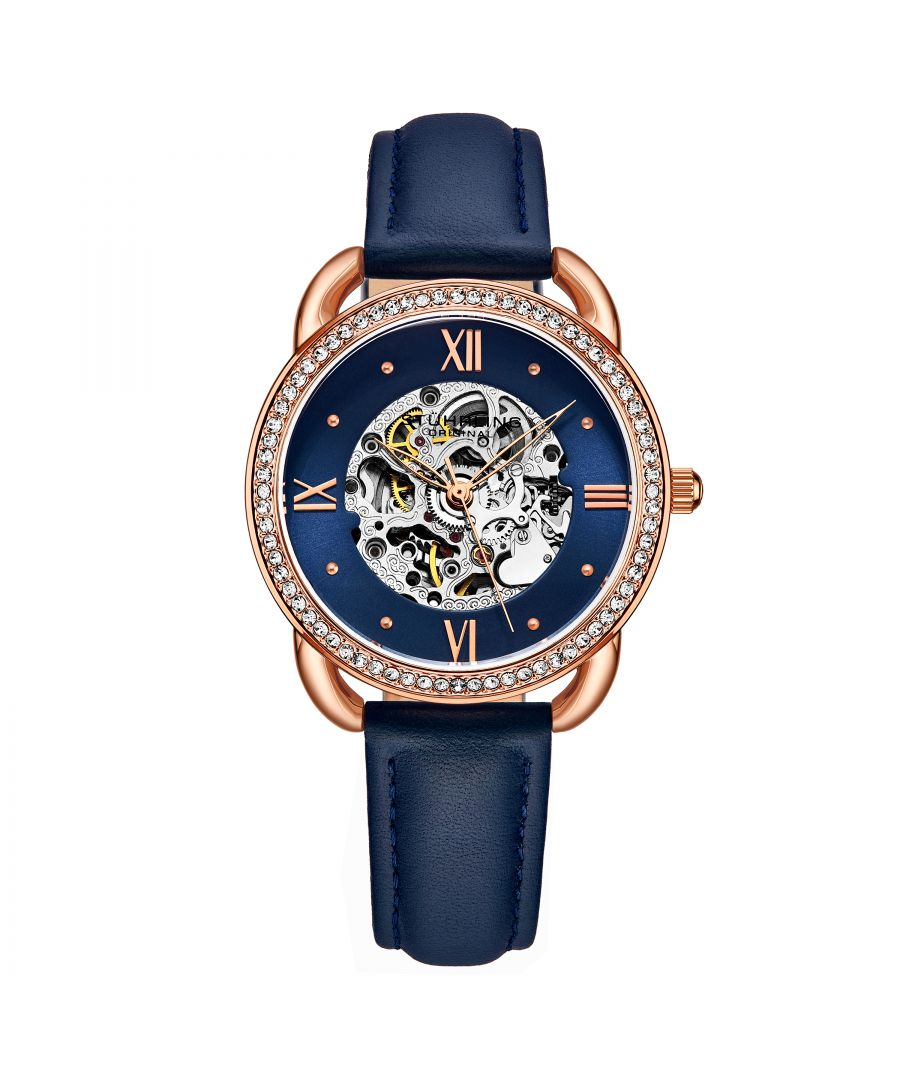 Image for Navy Blue and Rose Gold Automatic 36mm