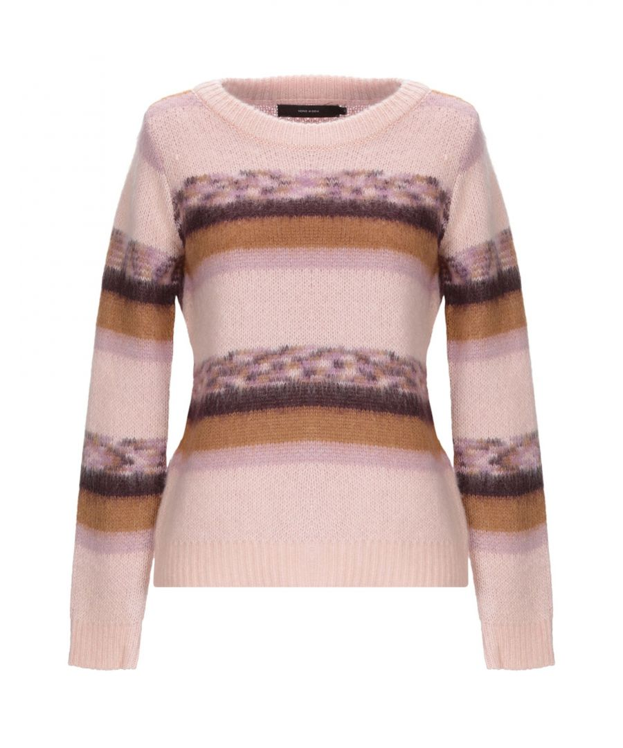 Image for Vero Moda Pink Stripe Jumper