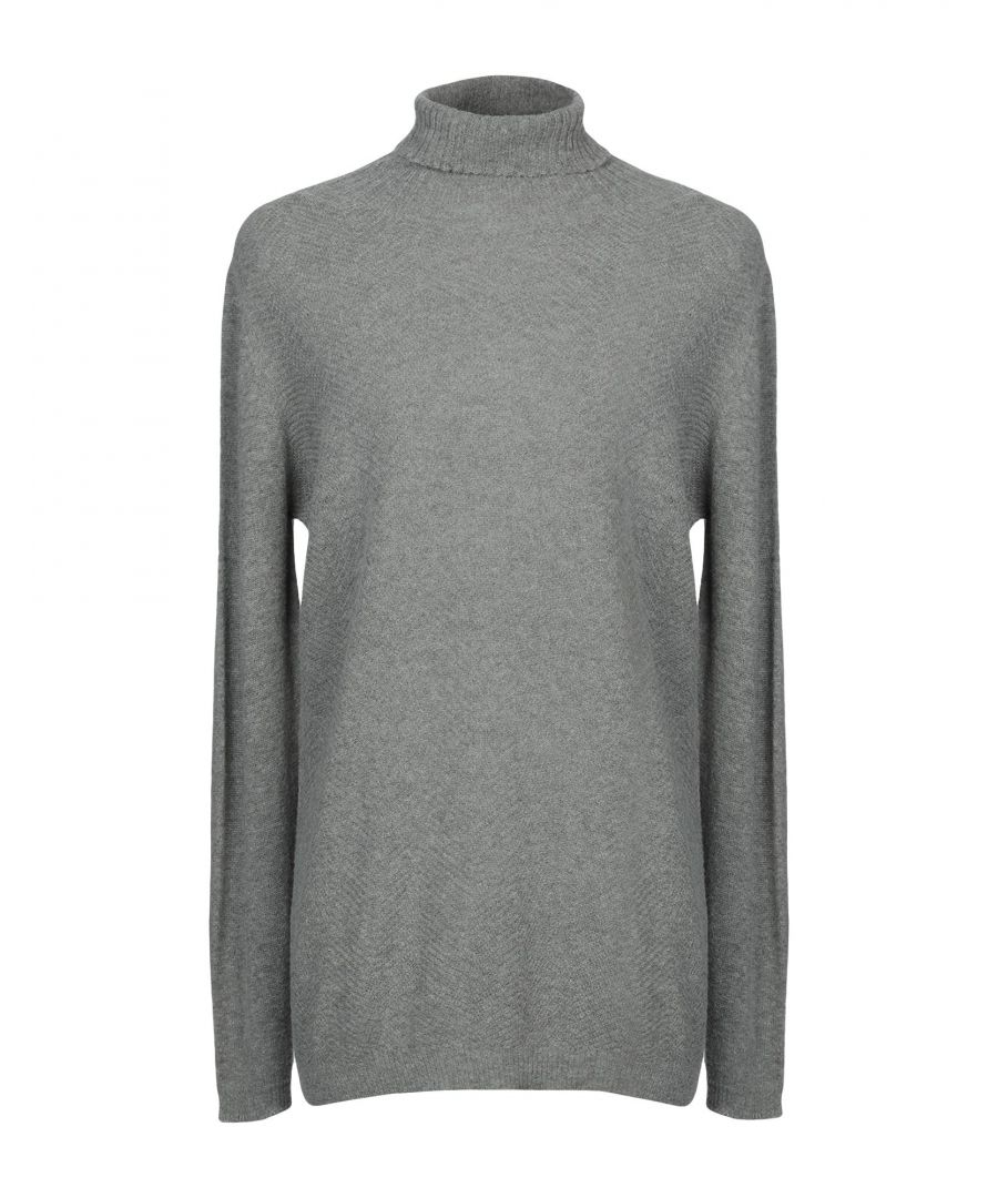Image for KNITWEAR Man Messagerie Grey Nylon