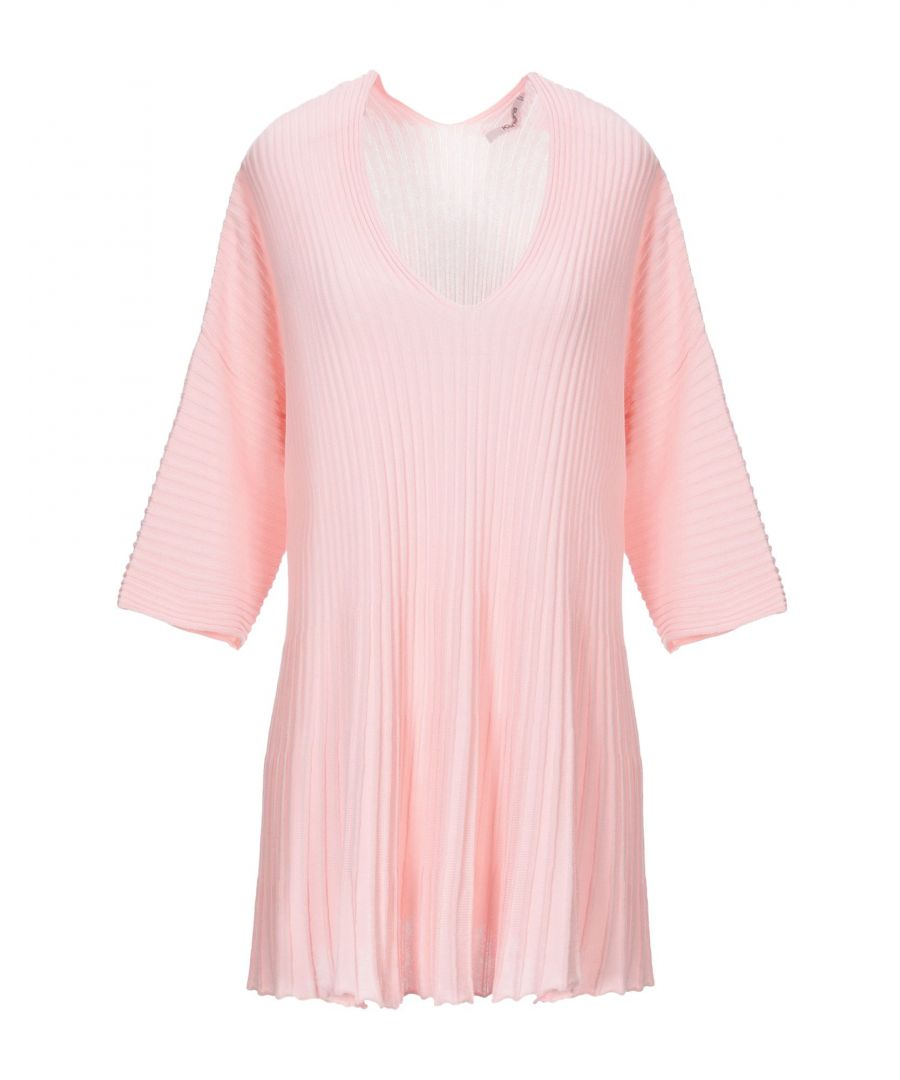 Image for Kangra Cashmere Women's Jumpers Pink Cotton
