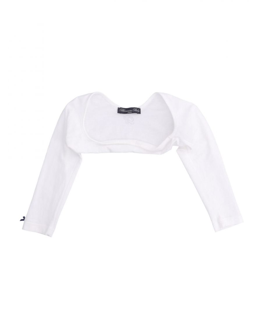 Image for KNITWEAR Girl Blumarine Jeans White Cotton