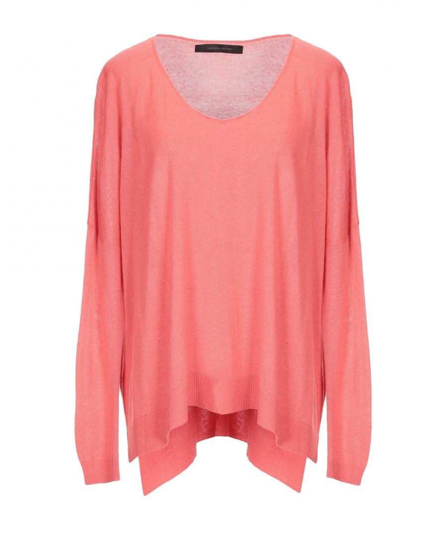 Image for Knitwear Women's Messagerie Salmon Pink Viscose