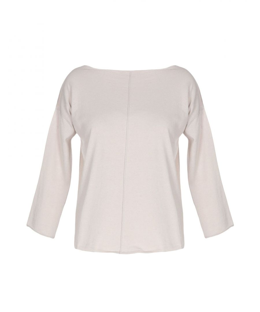 Image for Stefanel Beige Cotton Jumper