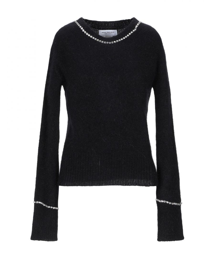 Image for Anna Rachele Black Angora Jumper