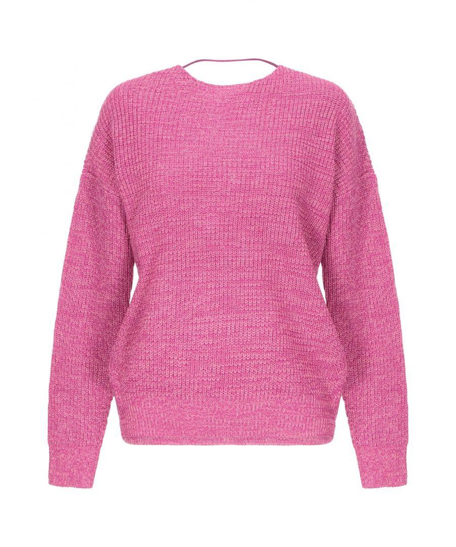 Image for Vero Moda Fuchsia Knit Jumper
