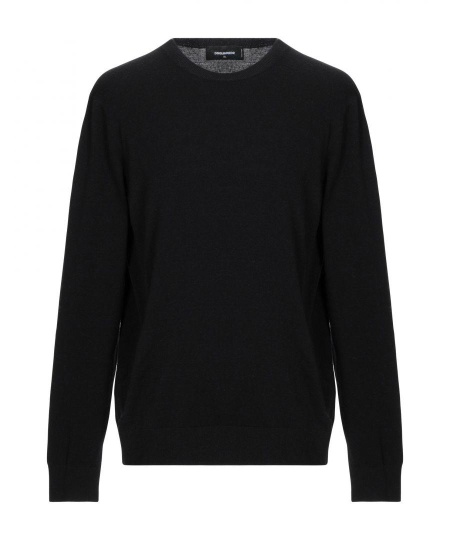 Image for Dsquared2 Black Wool Jumper