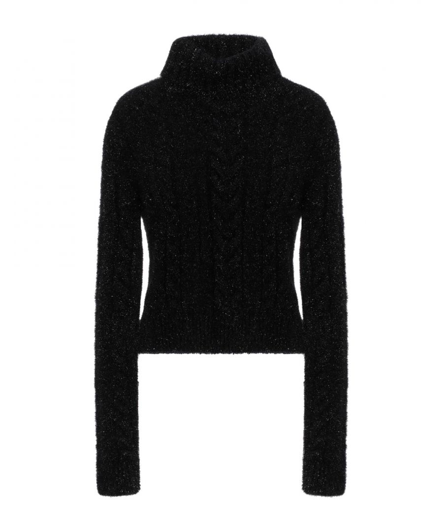 Image for Philosophy Di Lorenzo Serafini Black Knit Jumper