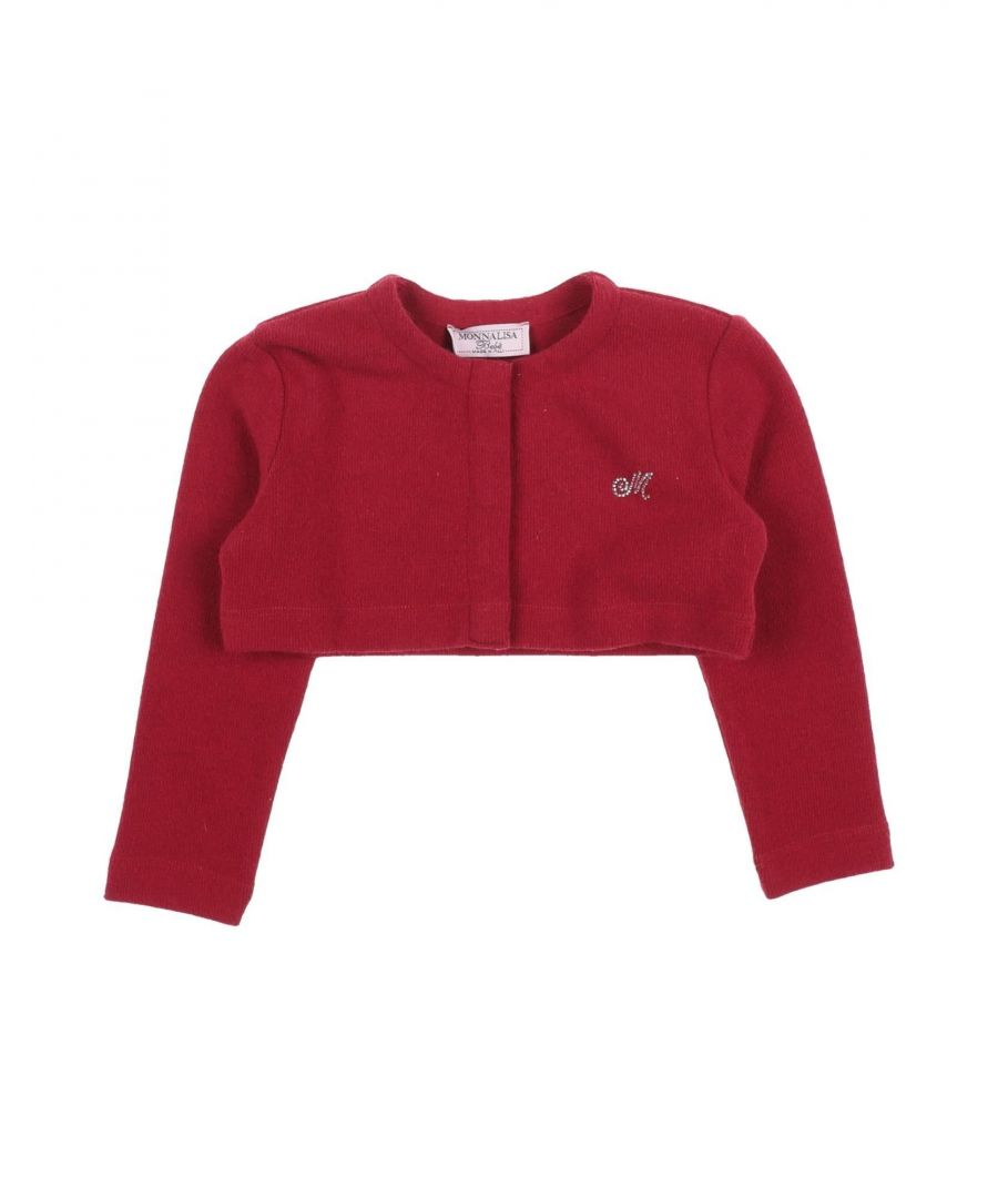 Image for Monnalisa Girl Wrap cardigans Red Cotton