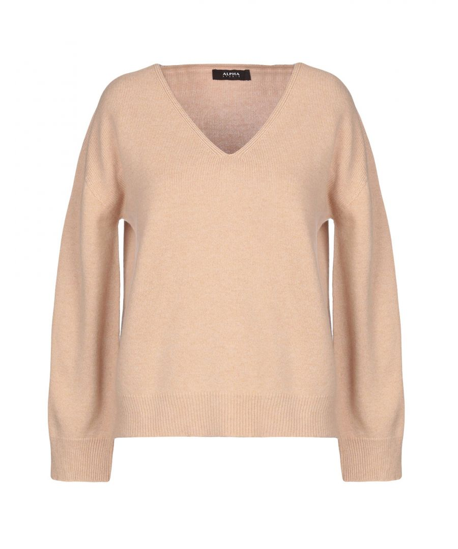 Image for Alpha Studio Sand Wool Jumper