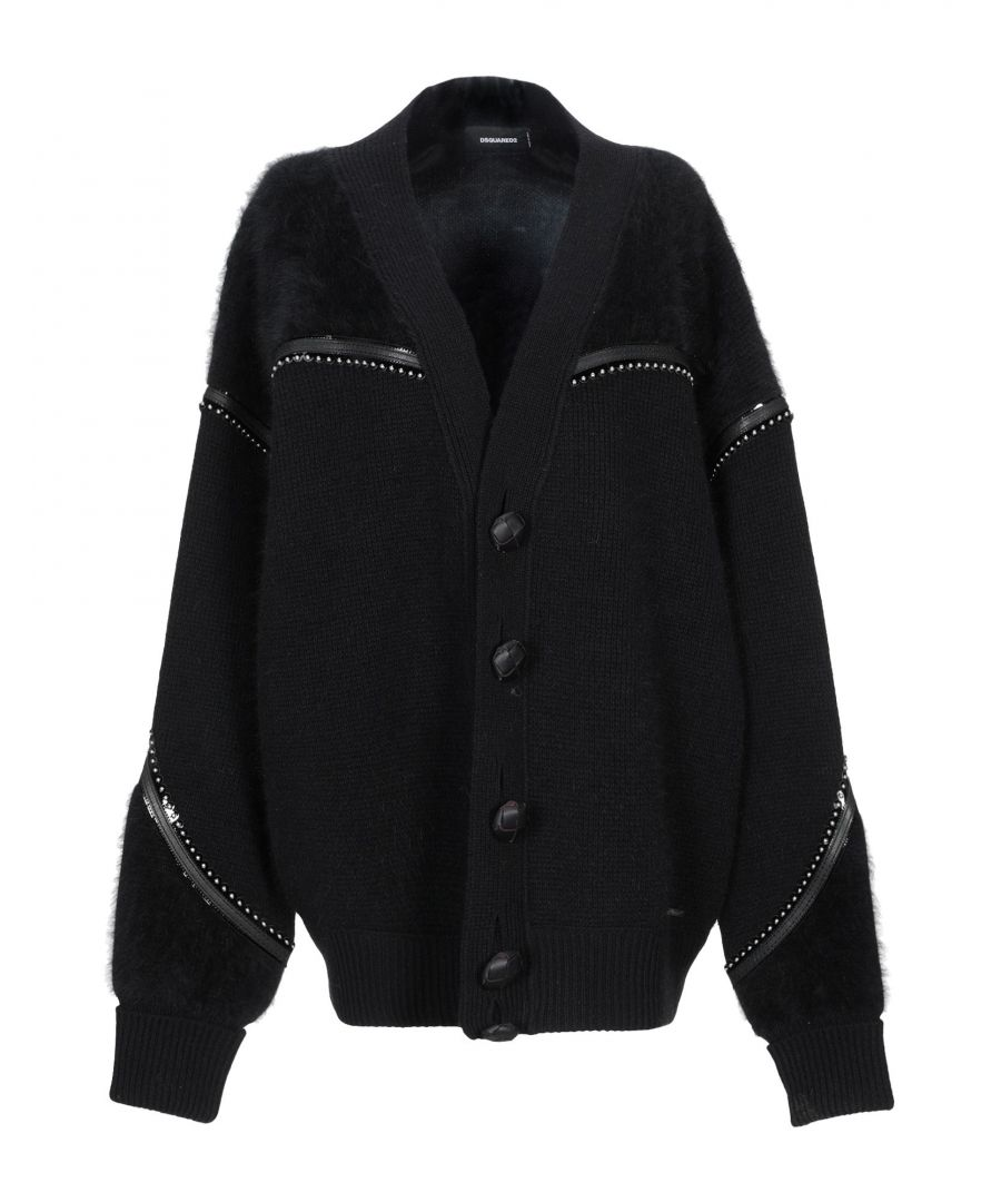 Image for Dsquared2 Black Wool Knit