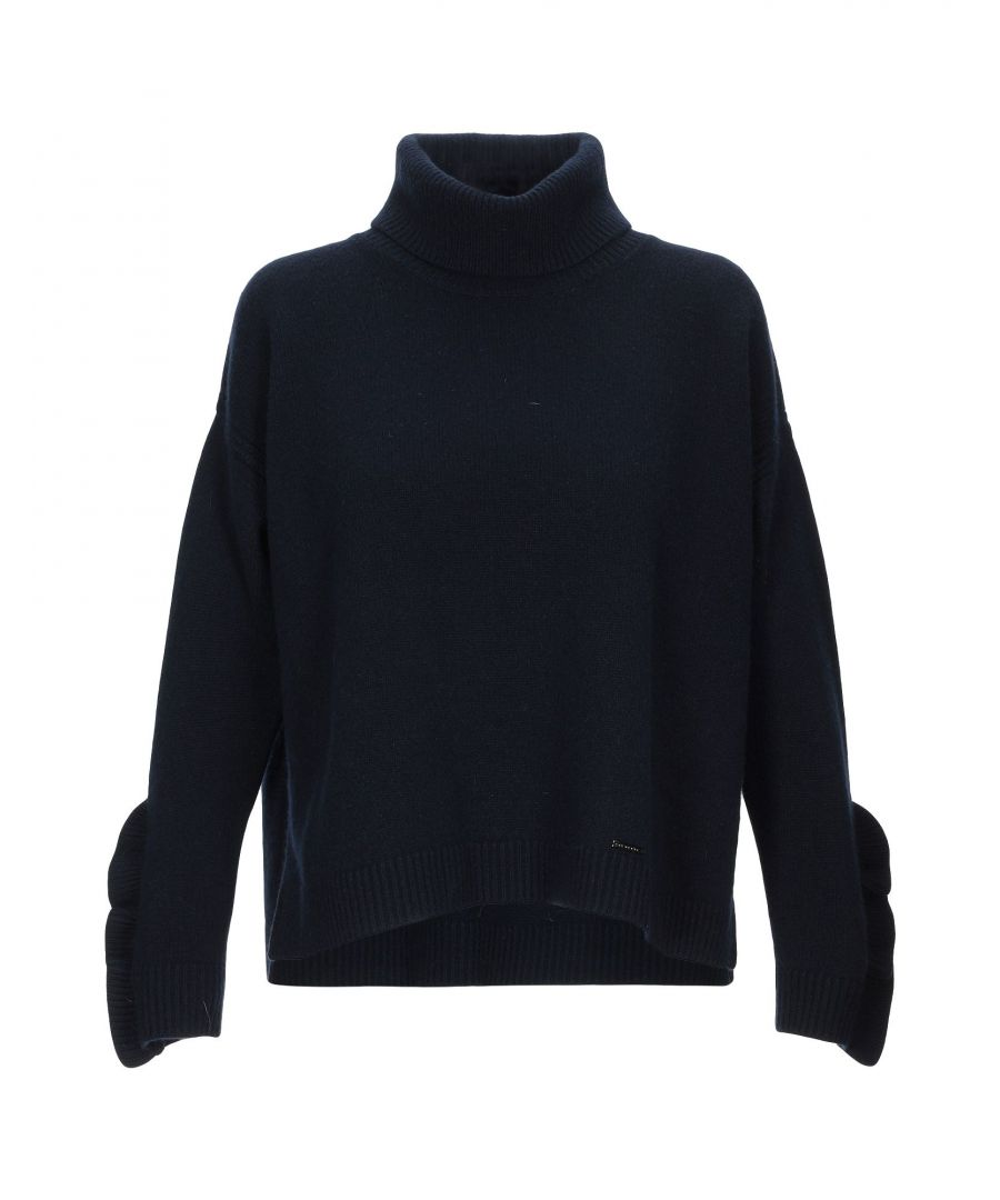 Image for Nenette Dark Blue Wool Knit Jumper
