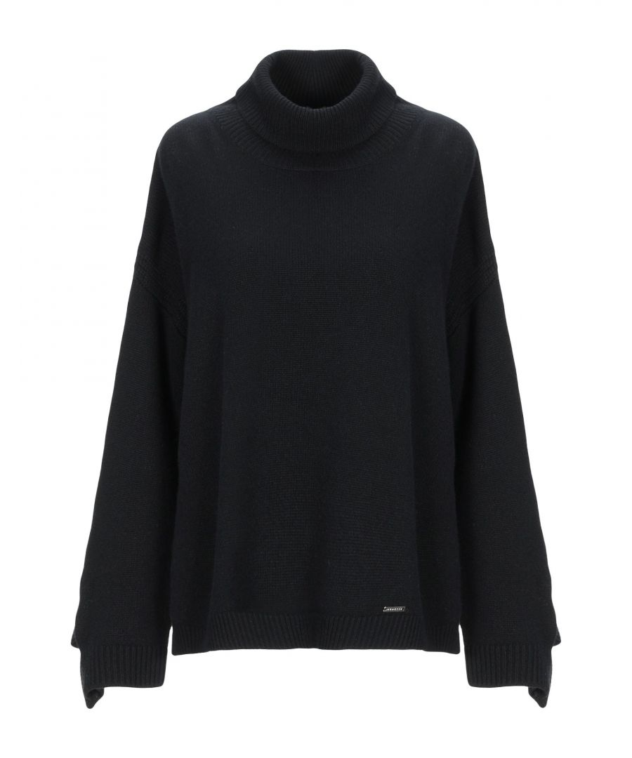 Image for Nenette Woman Turtlenecks Black Wool