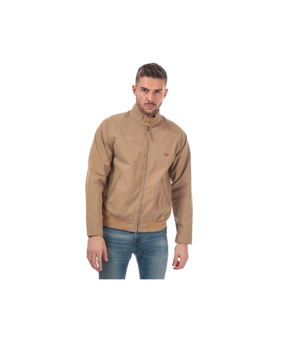 Image for Men's Levis Harrington Jacket in Tan