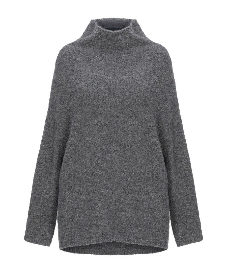 Image for Katia Giannini Grey Lightweight Knit Jumper