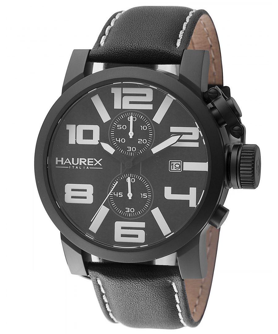 Image for Haurex Italy Turbina II Men's Black Watch
