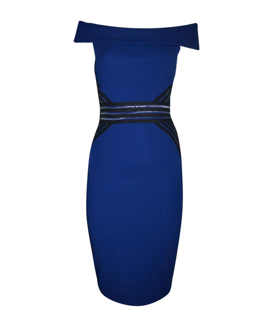 Image for TWENTY EASY BY KAOS WOMEN'S EG006BLUE BLUE POLYESTER DRESS