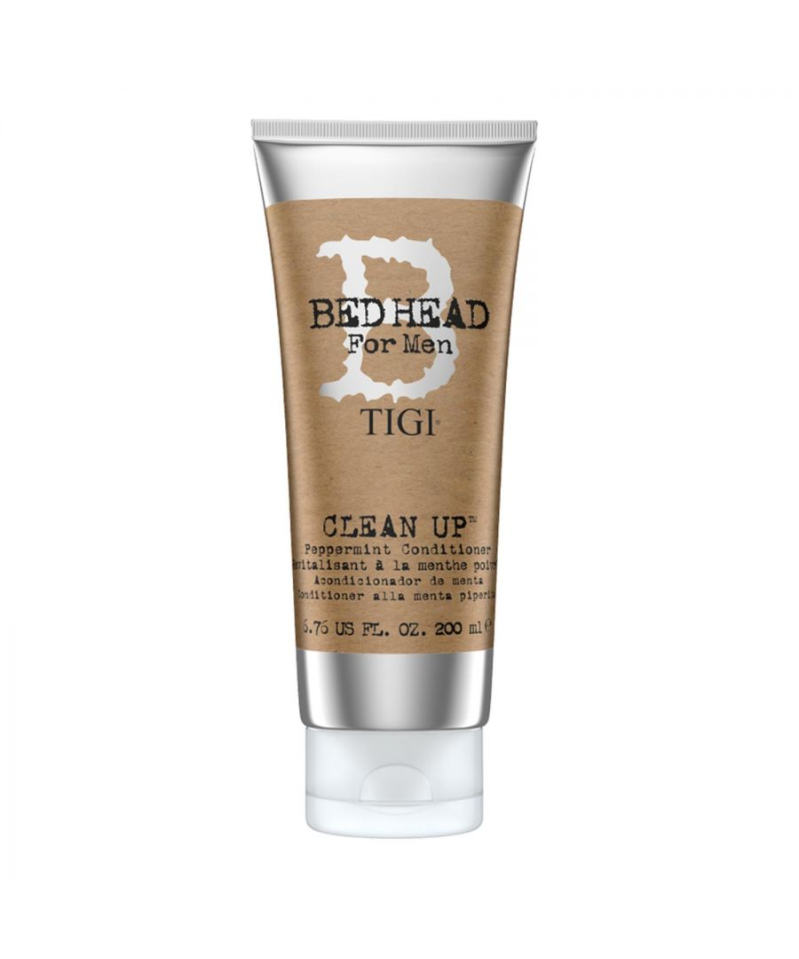 Image for Bed Head for Men by Tigi Clean Up Mens Daily Conditioner for Normal Hair 200ml