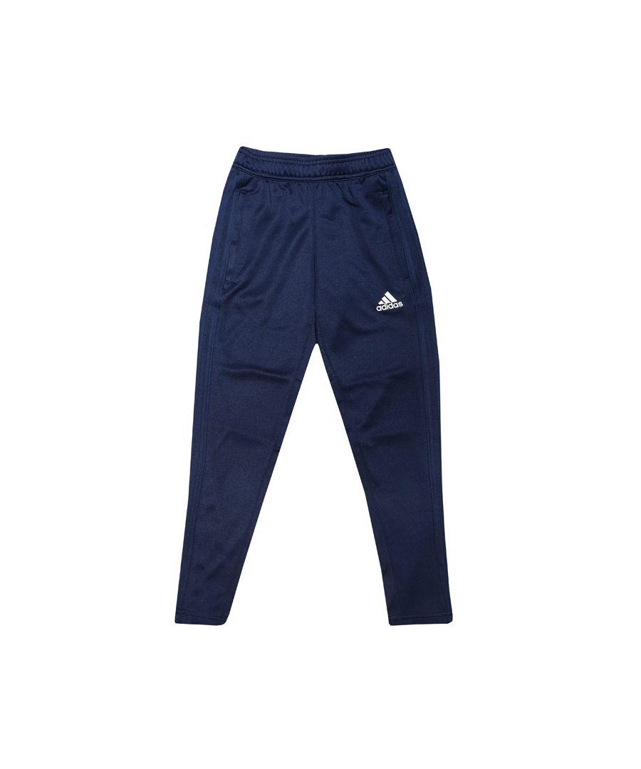 Image for Boy's adidas Junior Condivo 18 Training Tracksuit Bottoms Dark Blue 7-8in Dark Blue