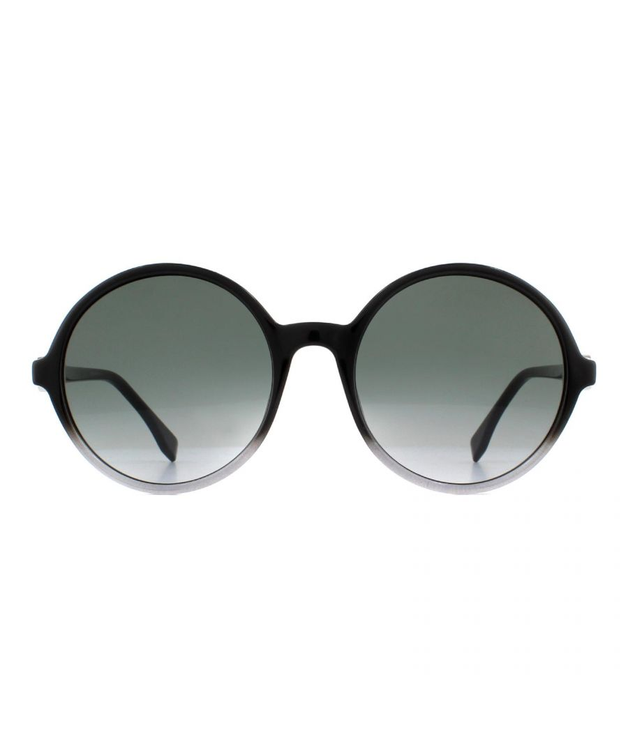 Image for Fendi Sunglasses FF 0319/G/S 807 9O Black and Grey Fade Grey Gradient