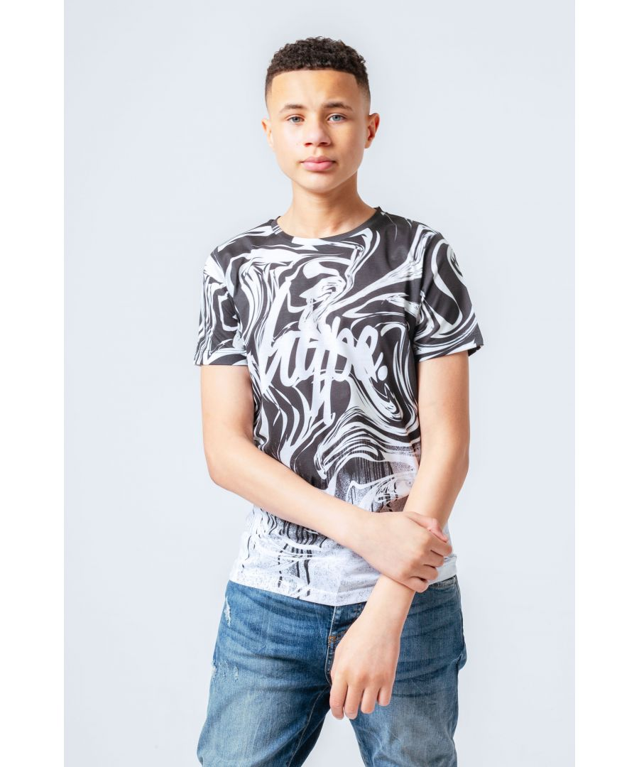 Image for Hype Mono Swirl Fade Kids T-Shirt