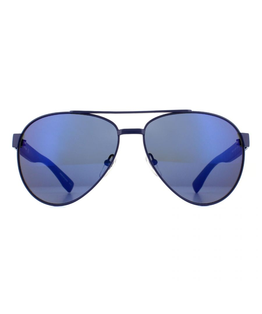 Image for Lacoste Sunglasses L185S 424 Blue Blue
