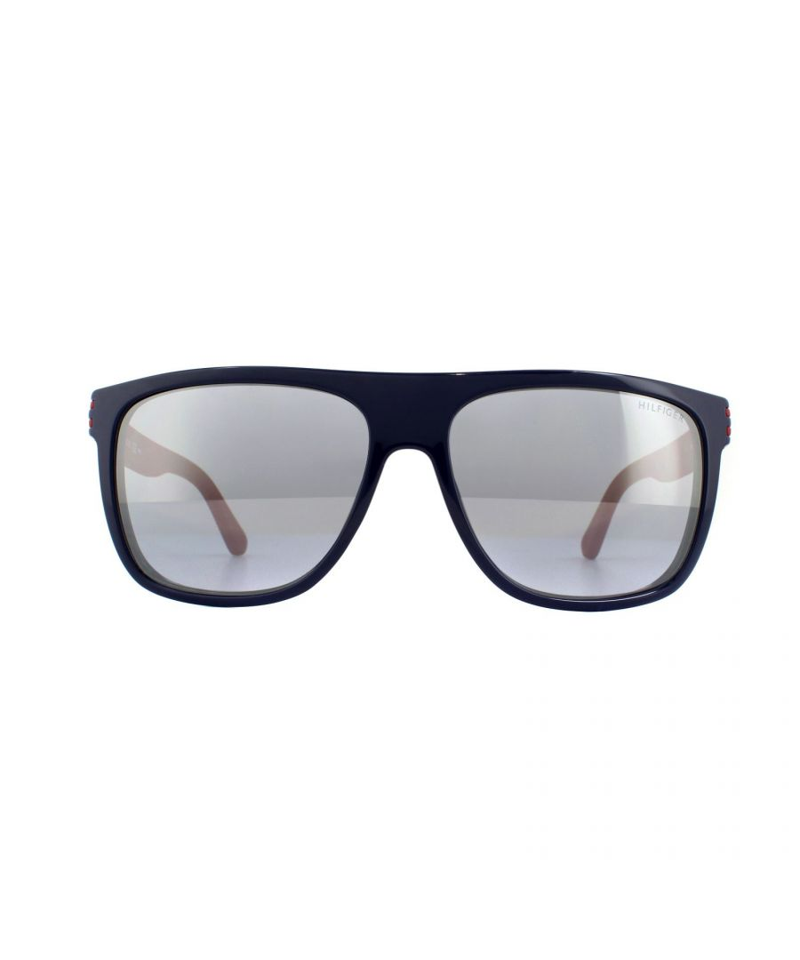 Image for Tommy Hilfiger Sunglasses TH 1277/S FEQ 3R Blue Red Grey Silver Mirror